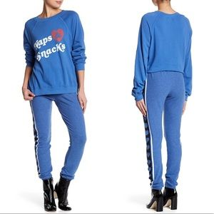 💙🆕 Wildfox ♡ XL ♡ Heart's Desire Sweatpants  ♡